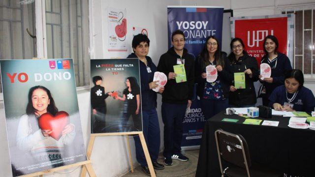 Profesionales de la salud promovieron hábitos saludables para cuidar los riñones, en el marco de la Semana del Riñón en el Hospital de Chillán