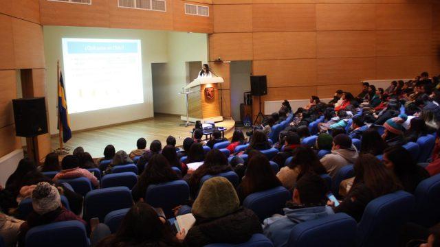 Charla educativa VIH en Virginio Gómez
