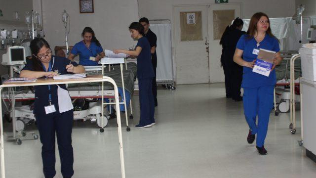 Fotografía referencial. Foto en sala de recuperaciópn anestésica.