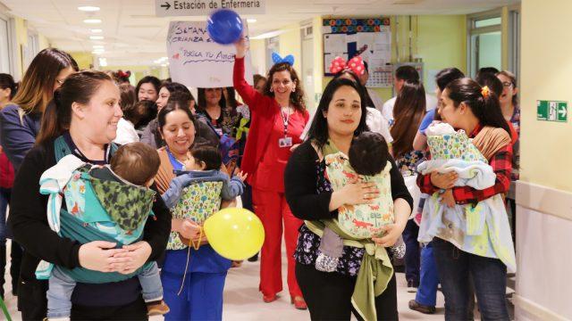 Semana de la Crianza en Brazos Hospital de Chillán 1