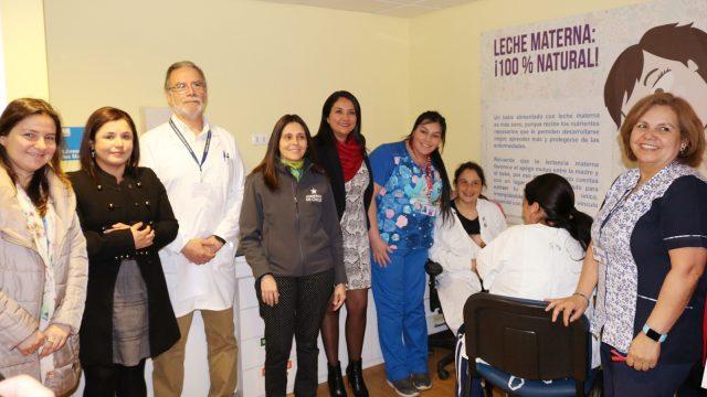 Seremi de Desarrollo Social visitó lactario del hospital de chillán