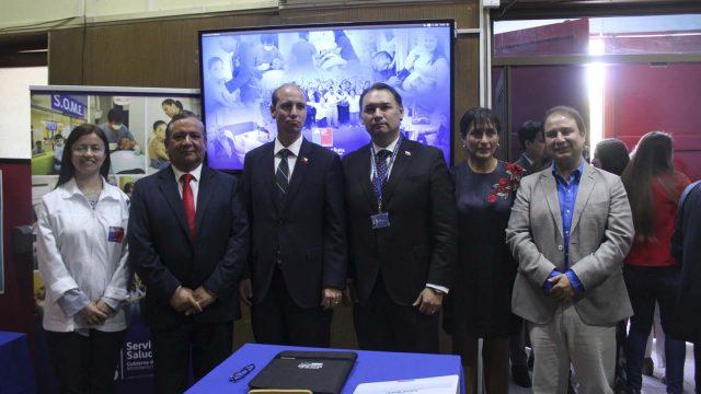 foto de la ceremonia de cambio de Director del Servicio de Salud Ñuble