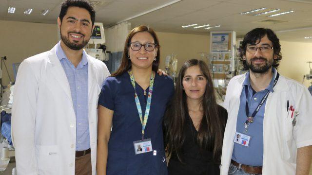 equipo de profesionales que participaron en el estudio internacional.