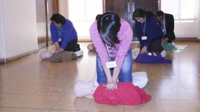Reanimación cardiopulmonar puede salvar vidas