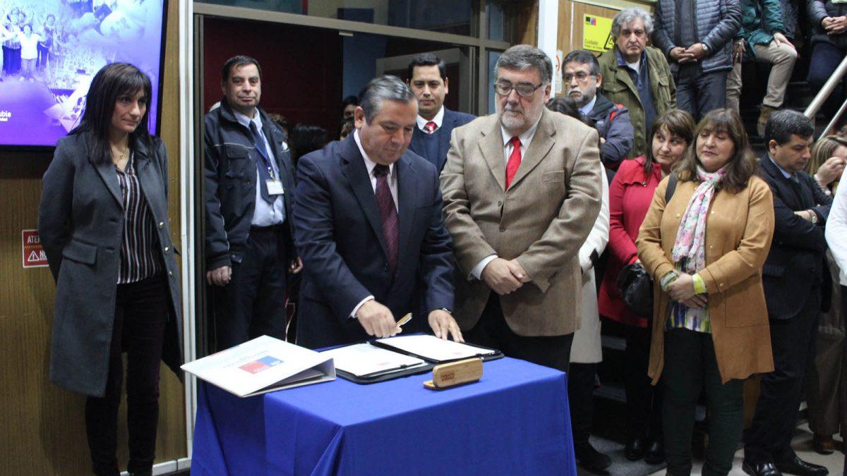 Imagen del nuevo Director (s) del Servicio de Salud Ñuble.