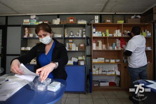 Preparando el despacho de medicamentos